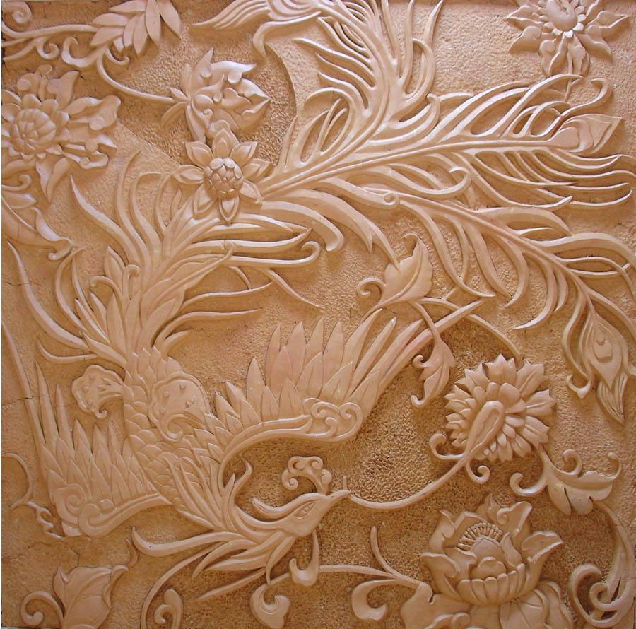 欧式花纹砂岩浮雕